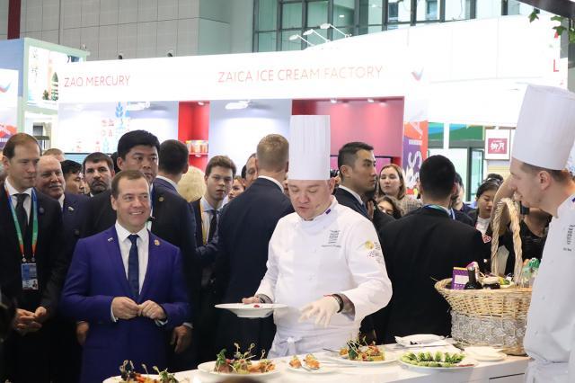 Фестиваль Discover Russian Cuisine в рамках China International Import Expo представил российскую кухню и гастрономию на высшем уровне