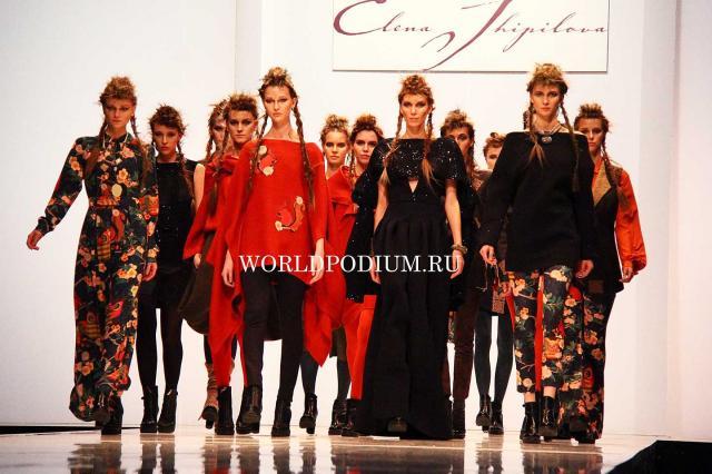 Певица Варвара стала лицом новой коллекции осень-зима 2015/2016 Модного дома Елены Шипиловой «Возвращение к истокам»
