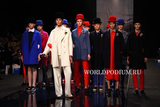 Виктория Андреянова на Неделе моды в Москве