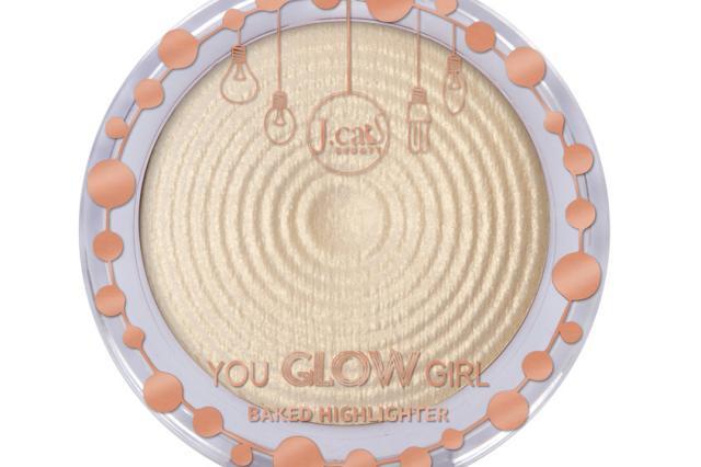 Пудра-хайлайтер для лица You glow girl от J.Cat Beauty