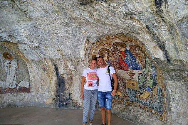 Сергей Куприк отдыхает в Черногории
