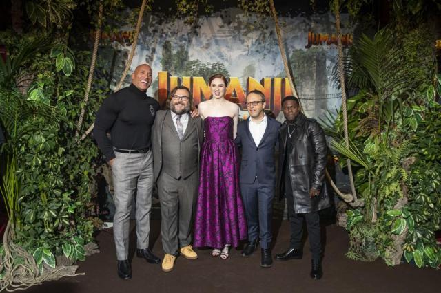 Европейская премьера фильма «Джуманджи: новый уровень»