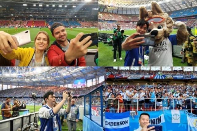 Впервые в истории спонсор Чемпионата мира по футболу FIFA™ принял участие в исполнении официальной песни на церемонии закрытия