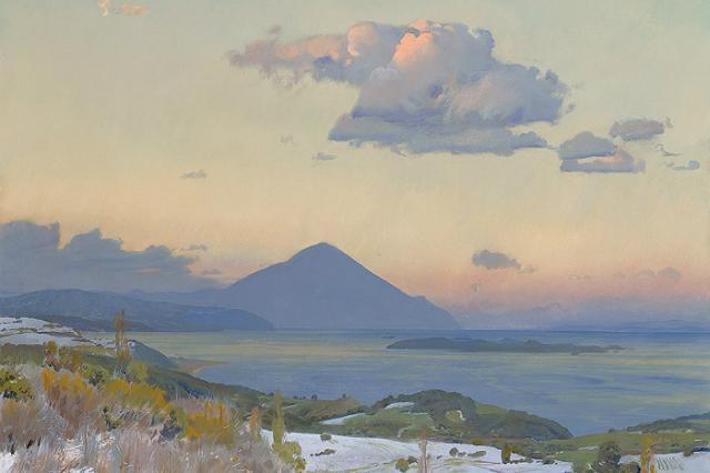 В Российской академии художеств в Москве 15 ноября откроется выставка Дмитрия Белюкина