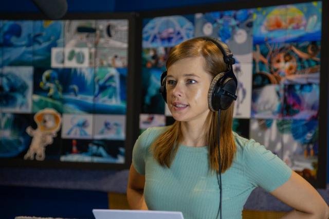 Катерина Шпица озвучила одну из главных ролей в третьей части блокбастерной франшизы «Белка и Стрелка» студии КиноАтис