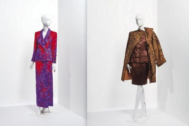 Катрин Денев продает свою коллекцию Yves Saint Laurent