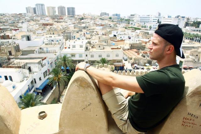 Актер Евгений Банифатов (Кулик) побывал в Тунисе