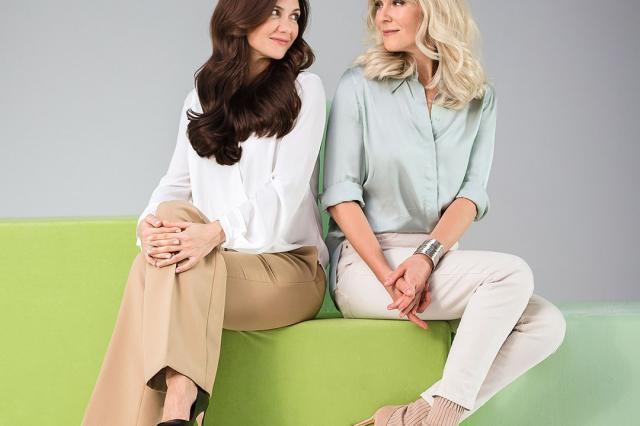 Екатерина Климова и Мария Куликова выбирают Garnier Color Naturals