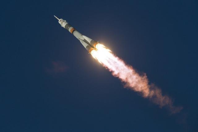 Космический корабль с инновационным роботом «Федором» стартовал с космодрома Байконур...