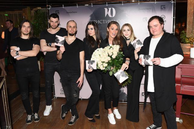 Кристина Орса презентовала долгожданный альбом