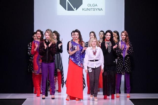 Показ дизайнера Ольга Куницына в рамках Недели моды в Москве