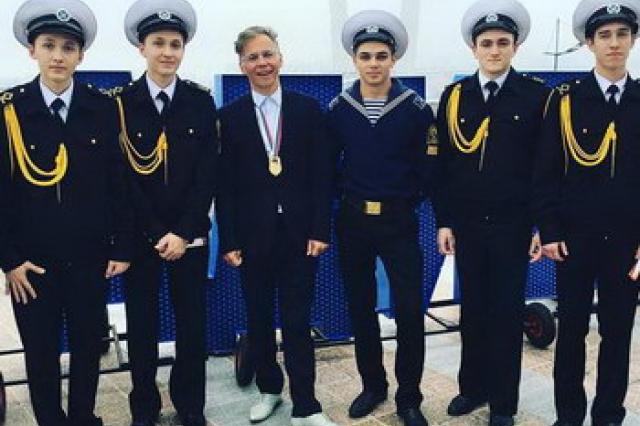 Илья Лагутенко лично получил звание «Почетного гражданина Владивостока»