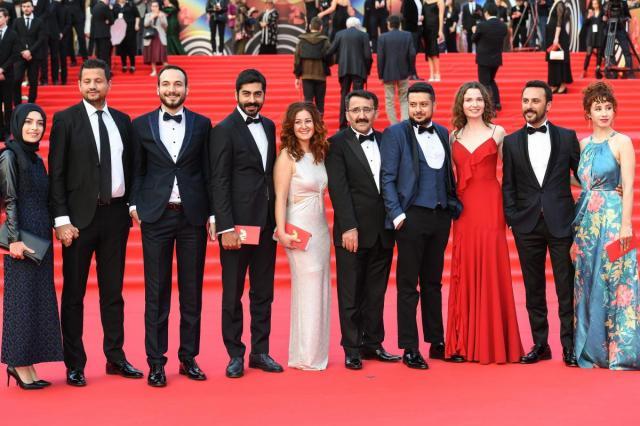 Церемония закрытия 41-го Московского Международного кинофестиваля