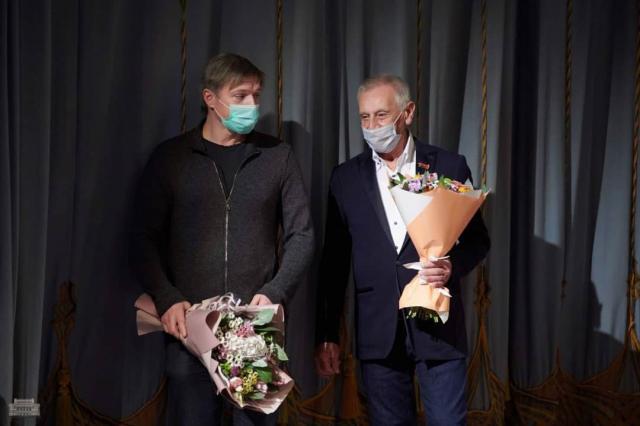 Миндаугас Карбаускис стал лауреатом X юбилейного Театрального фестиваля им. М. Горького!