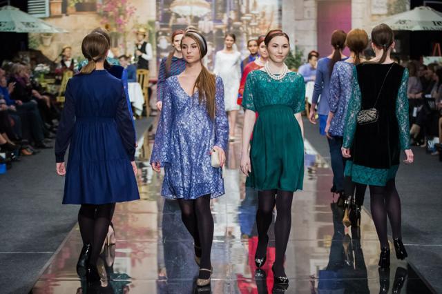 Анна Соловьева с коллекцией SOLO ELECTRO приняла участие в капсульном показе Fashion Time Designers