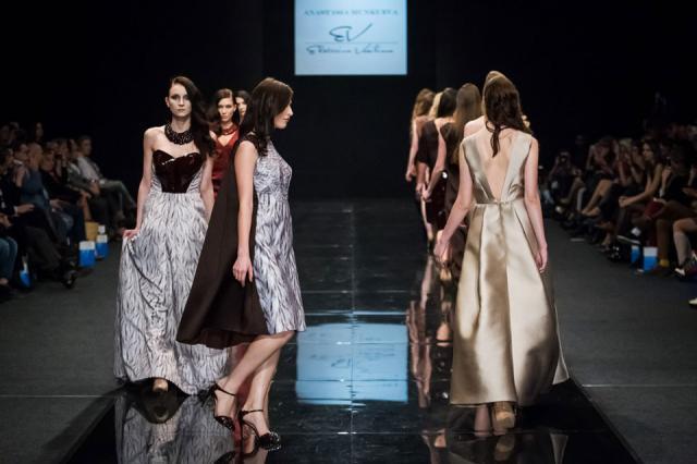 Анастасия Мункуева на 33-ей «Неделе моды»