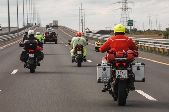 Команда Ducati выдвинулась на полуостров Рыбачий