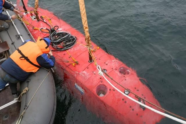 Российский подводный беспилотник впервые испытали в Марианской впадине