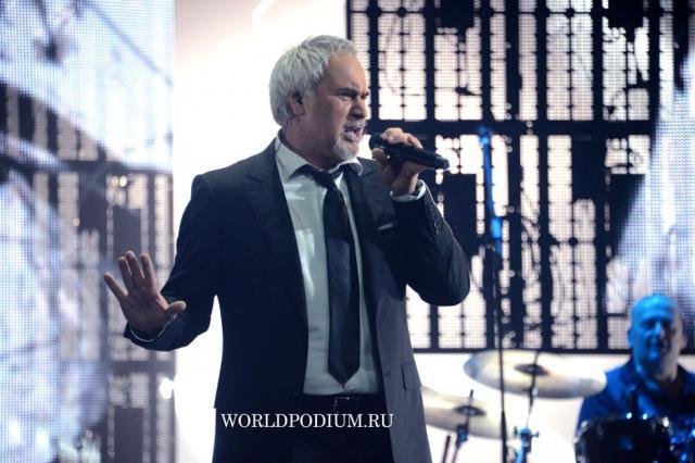 Валерий Меладзе с сольным концертом в Кремле
