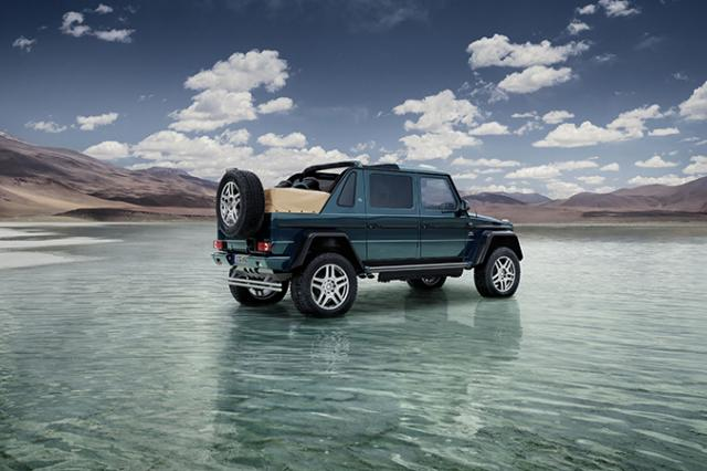 Новый Mercedes-Maybach G 650 Landaulet