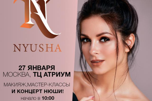 NYUSHAxMAYBELLINE – эксклюзивно в России
