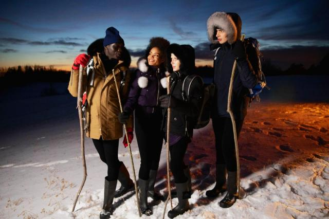 Moose Knuckles Canada исследуют Sacred Glacier (Священный Ледник)