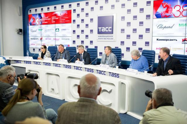 Пресс-конференция, посвященная 38-му Московскому Международному Кинофестивалю