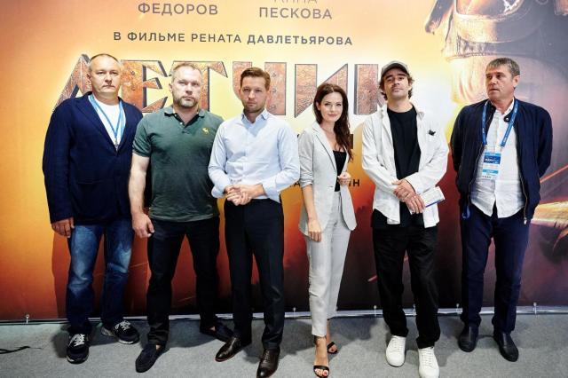 Презентация фильма «Летчик» Рената Давлетьярова состоялась на МАКС-2021