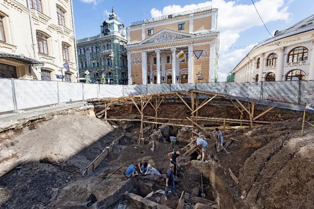 Выставка «Тайны московских подземелий»