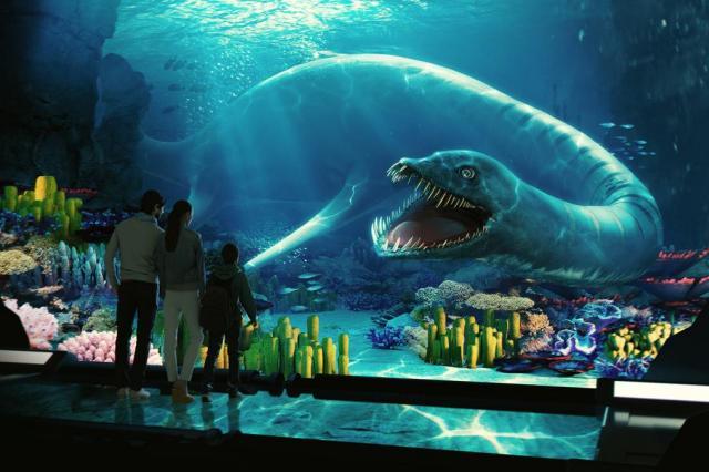 «Океан юрского периода»: тематический фестиваль и новая выставка в «Москвариуме» на ВДНХ