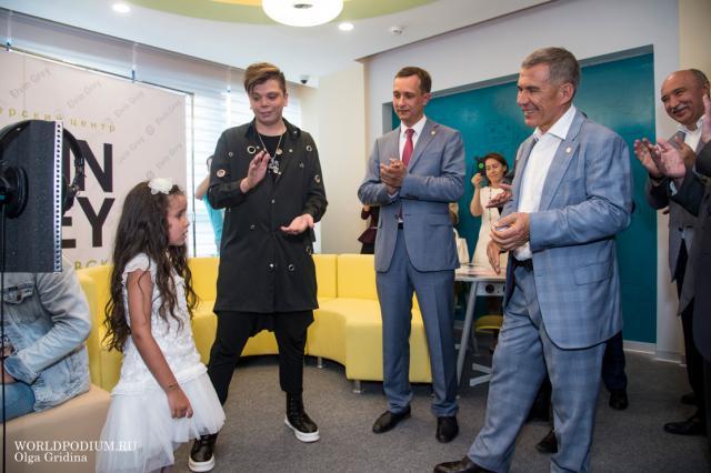 Президент Татарстана открыл детский технопарк «Кванториум» в Альметьевске