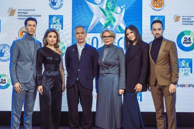 Объявлены победители четвертого сезона международного музыкального телевизионного конкурса «Во весь голос»