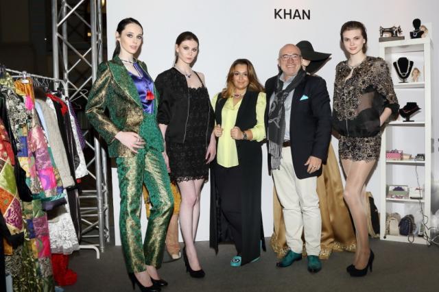 Бренд KHAN представил коллекцию осень-зима 2018 в рамках Недели моды в Москве в Гостином дворе