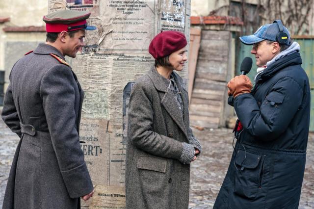 Создатели фильма «Нюрнберг» рассекретили главных героев: Сергей Кемпо и Любовь Аксенова
