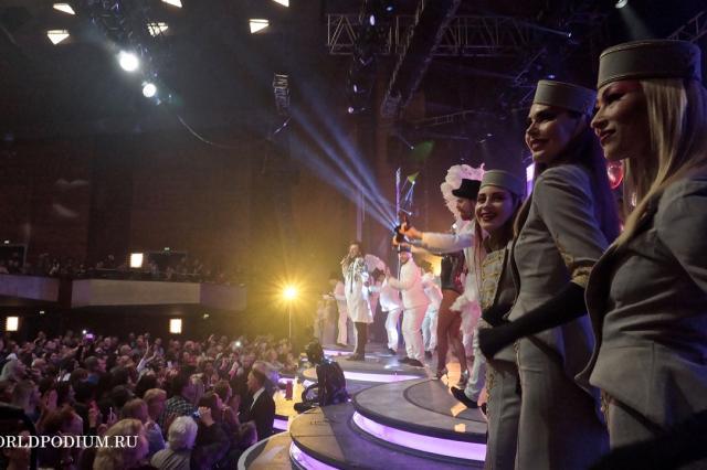 """Триумфальное шествие по Германии шоу """"Я"""": N?RNBERG"""