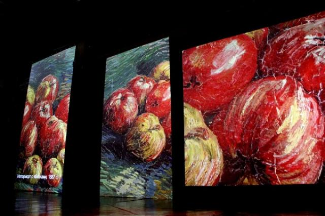 С любовью, Винсент. Открытие новой мультимедийной выставки творчества Винсента Ван Гога