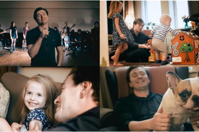 В преддверии нового года Сергей Безруков выпустил премьеру - новый клип на песню «Трудный день»
