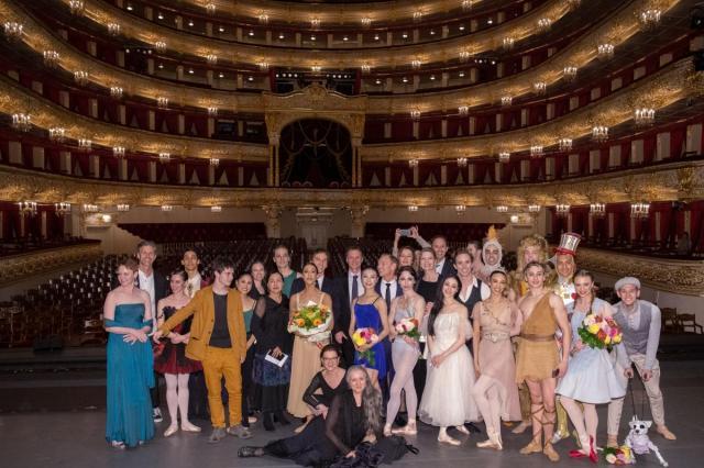 На Исторической сцене Большого Театра России в 27-й раз вручили Приз Бенуа де ла Данс