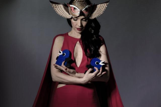 Наталья Орейро поддержала благотворительный артпроект «Люди и Птицы»