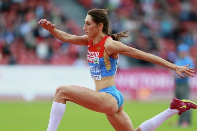 Конева победила в тройном прыжке на чемпионате России в Казани