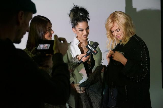 Ирина Ортман сняла клип на песню «Киев-Москва» Алексея Романоф