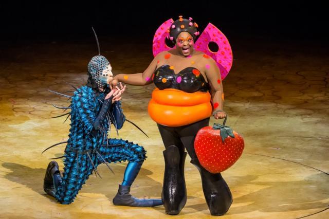 Артисты шоу OVO™ от Cirque du Soleil® откроют летний сезон в парке «Зарядье»