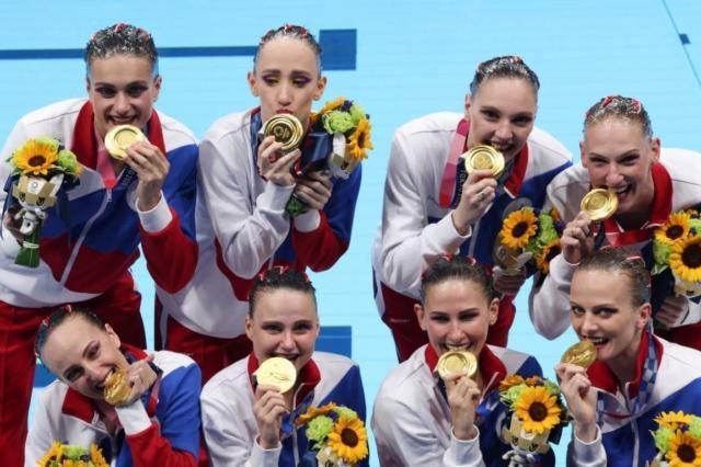 Российские синхронистки одержали безоговорочную победу в командной борьбе на Олимпийских играх в Токио