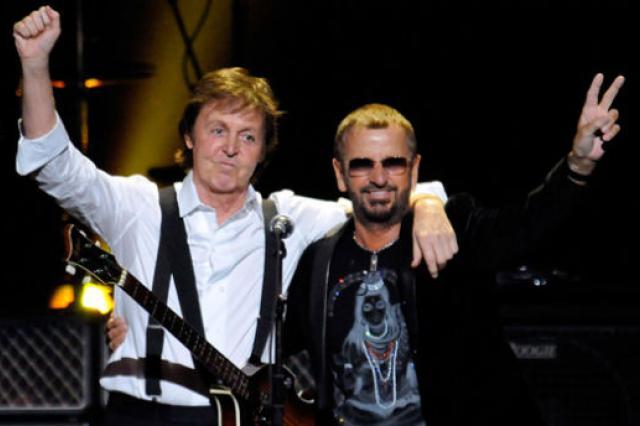 Пол Маккартни и Ринго Старр воссоединились на премьере фильма о Beatles