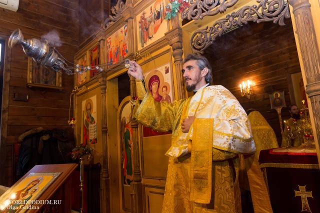 Престольный праздник в храме Свт. Спиридона Тримифунтского