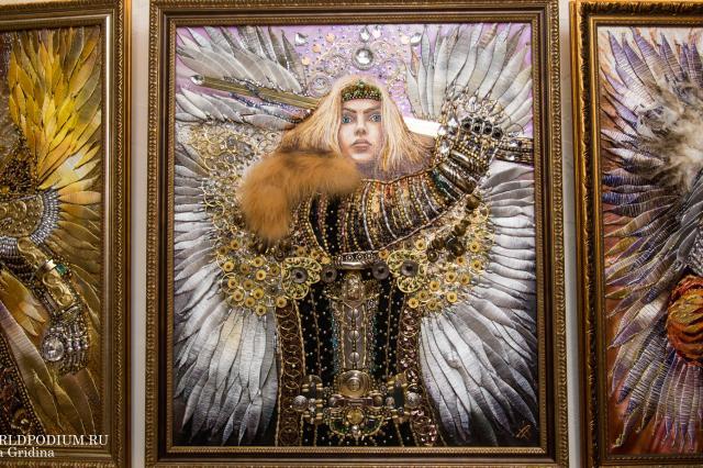Выставка «Ангелы над городом» часть 2