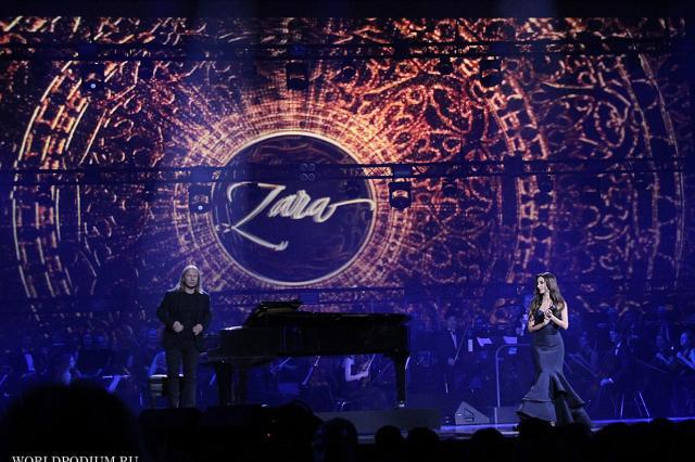 «Пусть голос мой звездою светит!», - вдохновенный сольный концерт Зары на главной сцене страны!