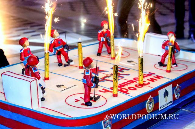 Новую «историческую» вершину взяла хоккейная команда клуба ЦСКА