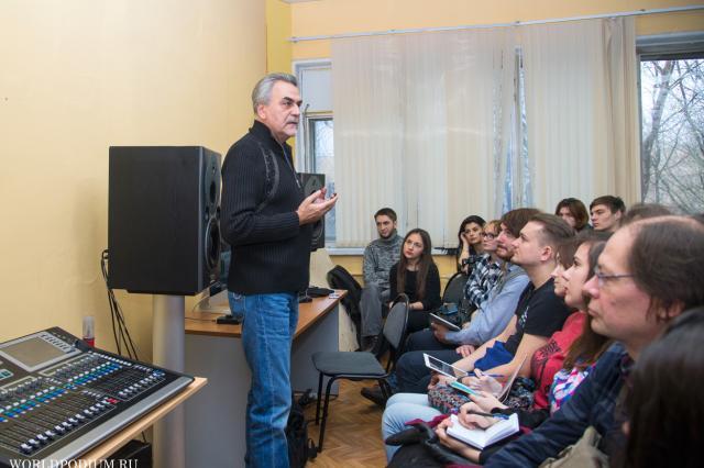В ИСИ прошел мастер-класс Андрея Пастернака