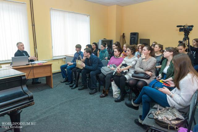 Мастер-класс Александра Михайловича Малиновского